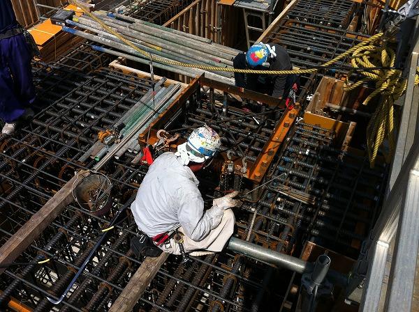 鍛冶工・アンカー工事写真